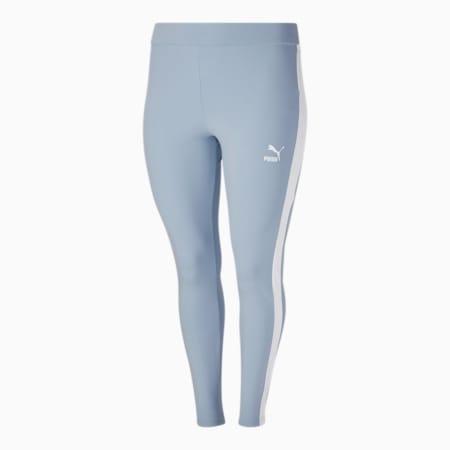 Legging Iconic T7 PL, femme, Brume bleue-blanc Puma, petit