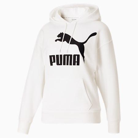 Kangourou à logo Classics, femme, blanc PUMA-noir PUMA, petit