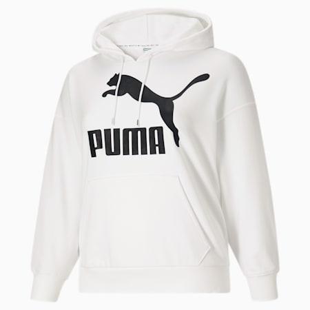 Kangourou à logo Classics PL, femme, blanc PUMA-noir PUMA, petit