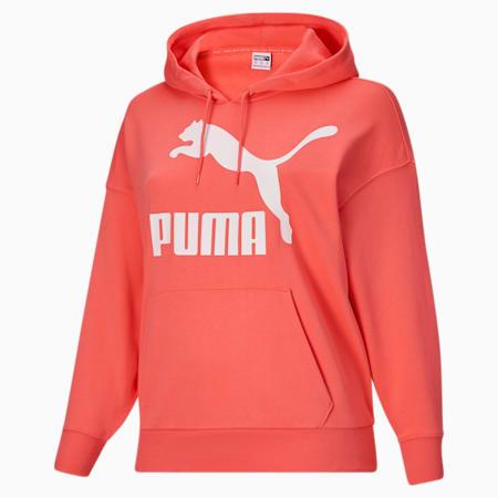 Kangourou à logo Classics PL, femme, Pêche de Géorgie- Blanc Puma, petit