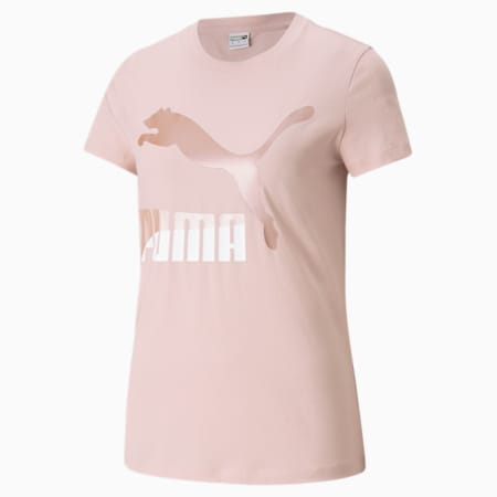 T-shirt à logo Classics, femme, Lotus-perle, petit