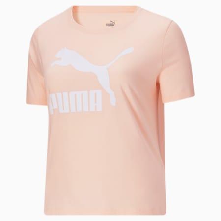 Camiseta con logo Classics PL para mujer, Cloud Pink, pequeño