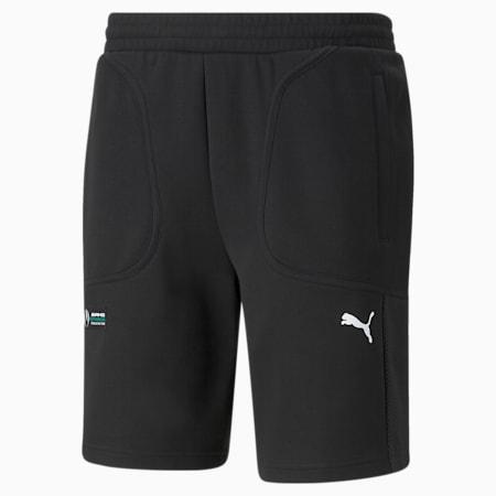 Mercedes F1 Men's  Sweat Shorts, Puma Black, small-GBR