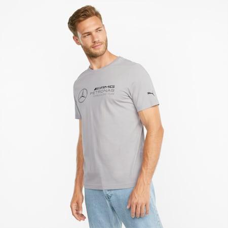 Mercedes F1 Logo Men's  Tee, Mercedes Team Silver, small-GBR