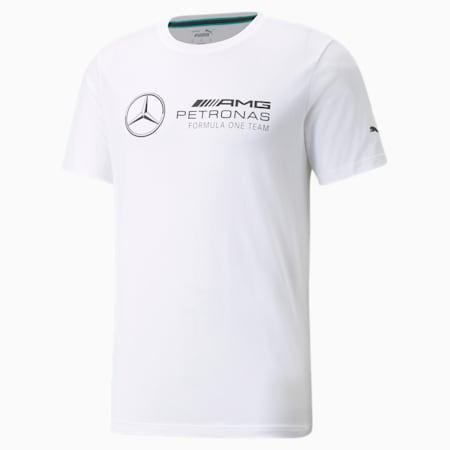 Mercedes F1 Logo Men's  Tee, Puma White, small-GBR