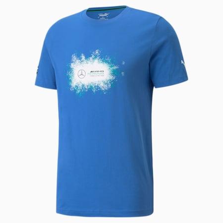 Camiseta con logo Mercedes F1 para hombre+, Bluemazing, pequeño