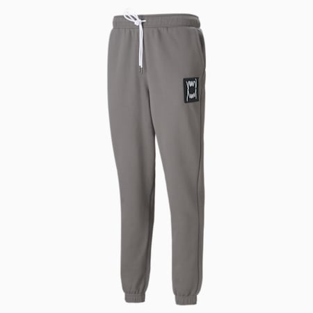 Pivot Special Men's Sweatpants, Charcoal Gray garment wash, small-GBR