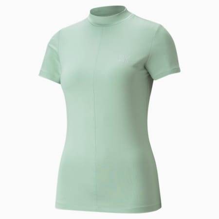 Camiseta Infuse para mujer, Frosty Green, pequeño