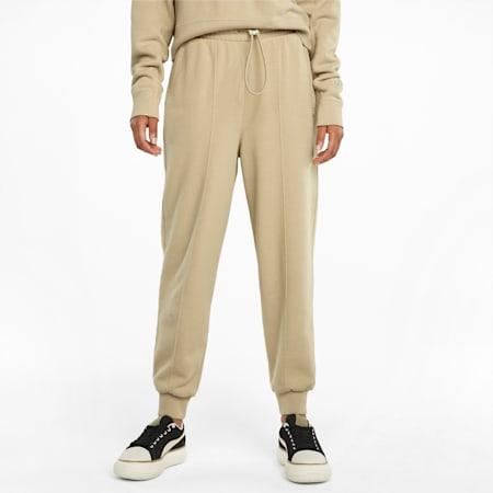 Damskie spodnie dresowe Infuse, Pebble, small