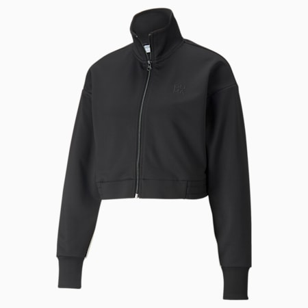 Infuse Women's Track Jacket, Puma Black, small-SEA