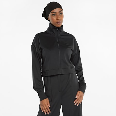 Infuse Women's Track Jacket, Puma Black, small
