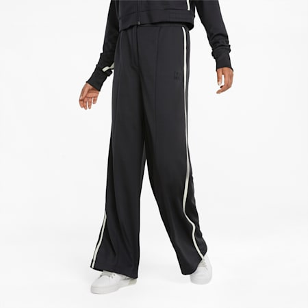Infuse Damen Trainingshose mit weitem Bein, Puma Black, small
