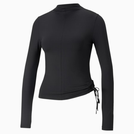 Infuse Long Sleeve Women's Top, Puma Black, small
