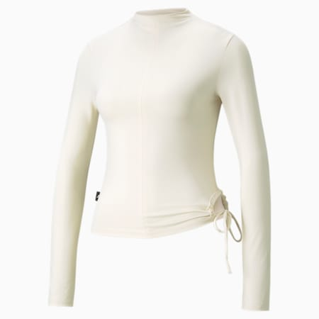 Infuse Long Sleeve Women's Top, Ivory Glow, small-GBR