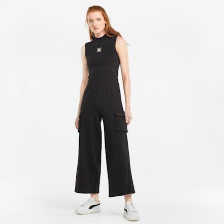 RE.GEN Damen Jumpsuit, Puma Black, small