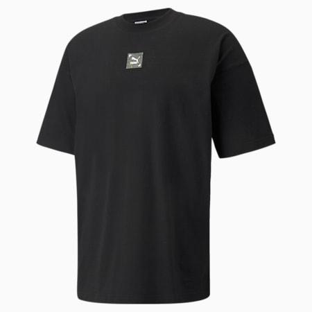 RE.GEN BOXY グラフィック Tシャツ ユニセックス, Puma Black, small-JPN