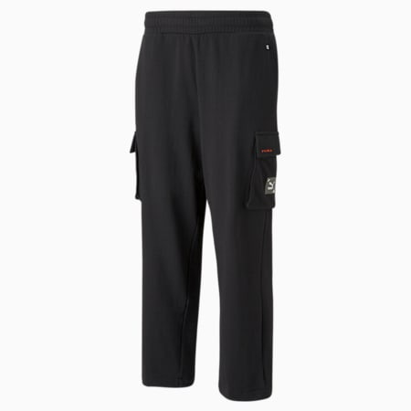 RE.GEN Cargo sweatpants, Puma Black, small