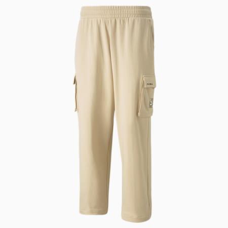 RE.GEN 카고 스웨트팬츠/RE.GEN Cargo Sweat Pants, Pebble, small-KOR