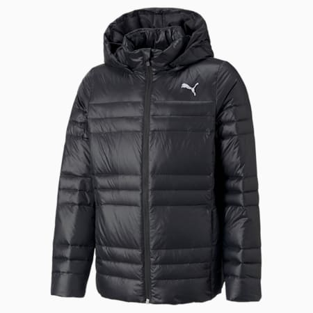 Light Goose Down Youth Jacket, Puma Black, small-GBR
