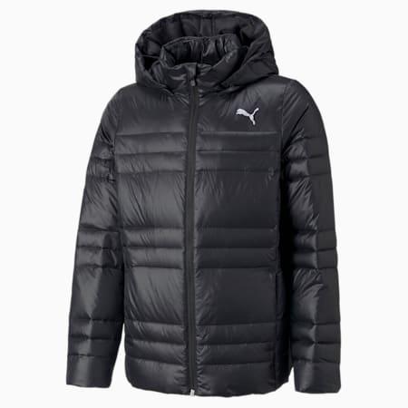 Leichte Jugend Gänsedaunenjacke, Puma Black, small