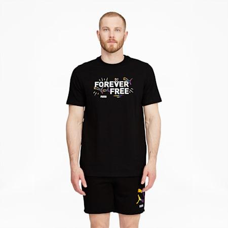 Camiseta Pride, Puma Black, pequeño