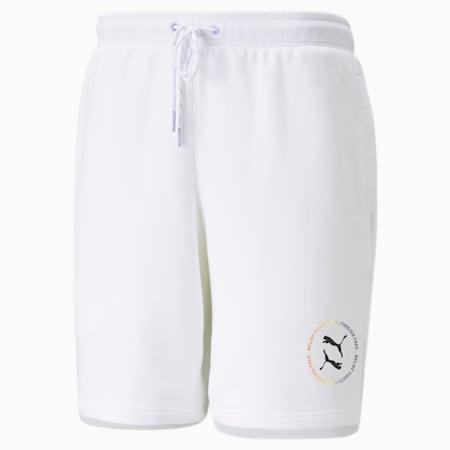 PRIDE Shorts, Puma White, small
