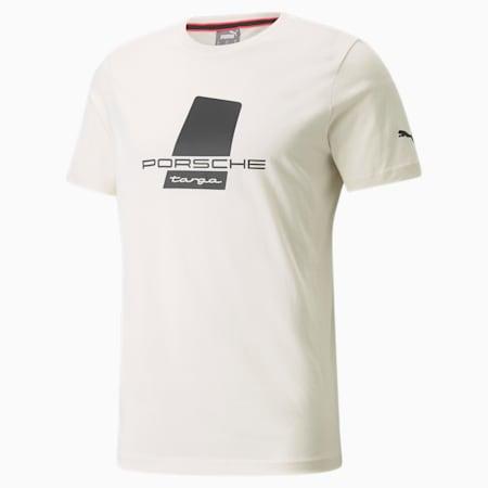 포르쉐 레거시 Logo 티셔츠/PL Logo Tee, Ivory Glow, small-KOR
