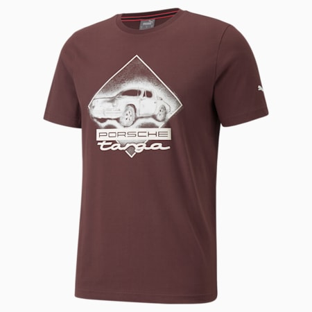 ポルシェ レガシー グラフィック Tシャツ, Fudge, small-JPN