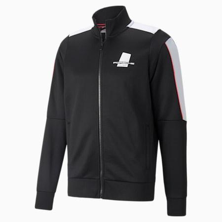 포르쉐 레거시 T7 트랙 재킷/PL T7 Track Jacket, Puma Black, small-KOR