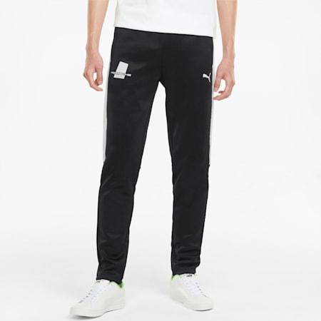 포르쉐 레거시 T7 Track 팬츠/PL T7 Track Pants, Puma Black, small-KOR
