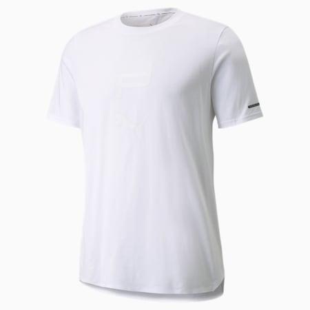 Camiseta Porsche Design estampada para hombre, Puma White, pequeño