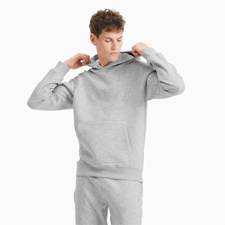 Classics Heavy gebreide hoodie voor heren, Light Gray Heather, small