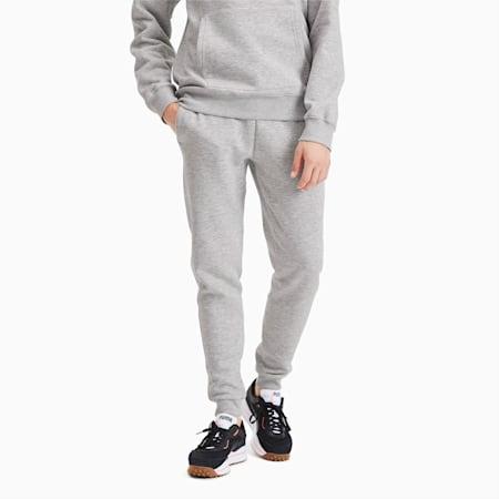Classics Heavy Knit Men's Pants, Light Gray Heather, small