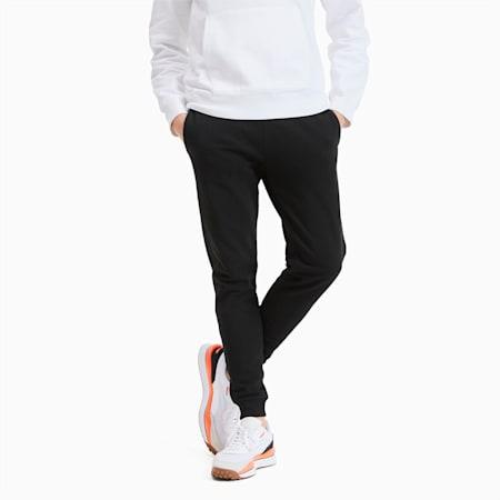 Classics Heavy Knit Men's Pants, Puma Black, small
