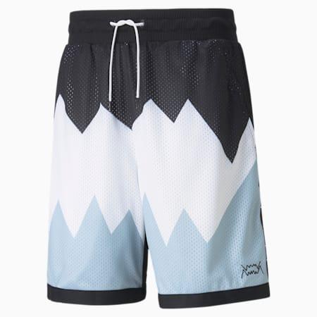 Shorts para básquetbol Scholarship para hombre, Puma Black, pequeño