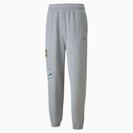 Combine Men's Basketball Pant, Medium Gray Heather-Medium Gray Heather, small-GBR