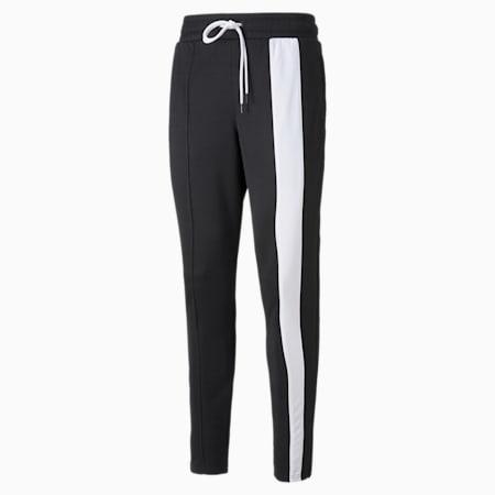 Ralph Sampson Men's Basketball Pants, Puma Black-Puma White, small-GBR