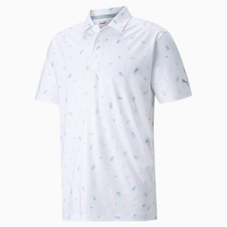 MATTR 스낵 셱 폴로/MATTR Snack Shack Polo, Bright White-Placid Blue, small-KOR
