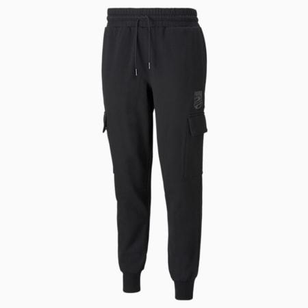 Booster Men's Basketball Pants, Puma Black, small-SEA