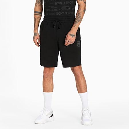 Short de basketball Booster, homme, Puma Black, petit