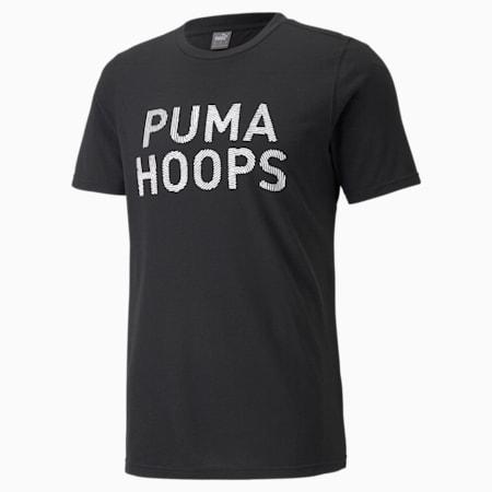 All Tournament Men's Basketball Tee, Puma Black, small-SEA