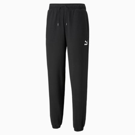 Classics Oversized Men's Sweatpants, Puma Black, small-GBR