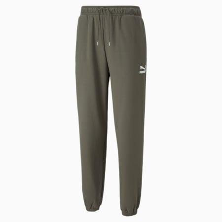 Pantalones deportivos holgados Classics para hombre, Grape Leaf, pequeño