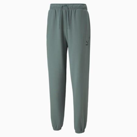 Pantalones deportivos holgados Classics para hombre, Balsam Green, pequeño