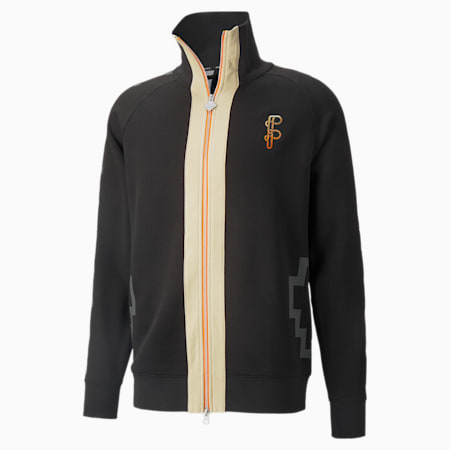 PUMA x PRONOUNCE Men's Track Jacket, Puma Black, small