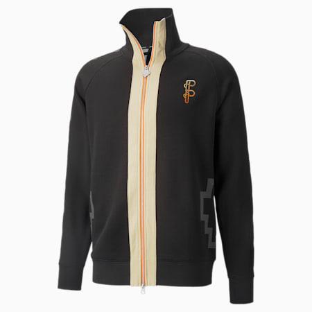 PUMA x PRONOUNCE Regular Fit Men's Track Jacket, Puma Black, small-IND