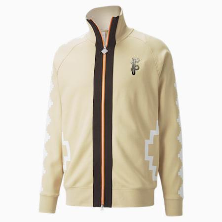 PUMA x PRONOUNCE Regular Fit Men's Track Jacket, Pebble, small-IND