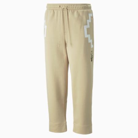 Pantalons en molleton 7/8 PUMA x PRONOUNCE, homme, Caillou, petit
