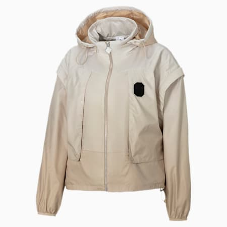 PUMA x PRONOUNCE Women's Jacket, Pebble, small-GBR