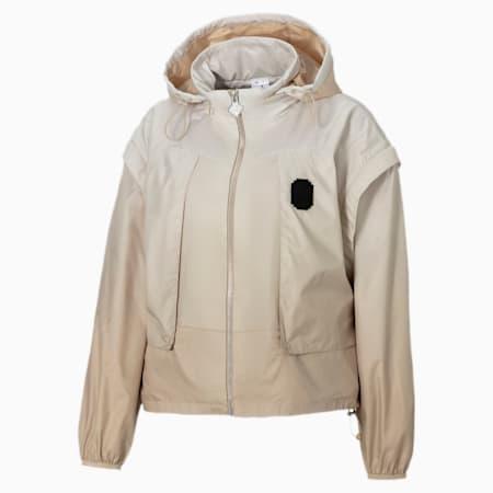 PUMA x PRONOUNCE Woven Women's Jacket, Pebble, small-IND